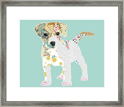 Jack Russell Framed Print by Claudia Schoen