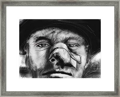 Jack Framed Print by Russell Pierce