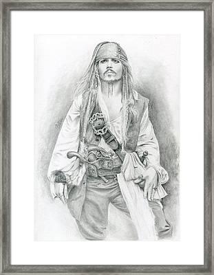 Jack Sparrow, Bring Me The Horizon Framed Print