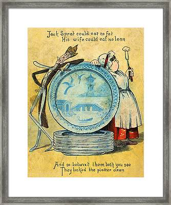Jack Sprat Framed Print by Granger