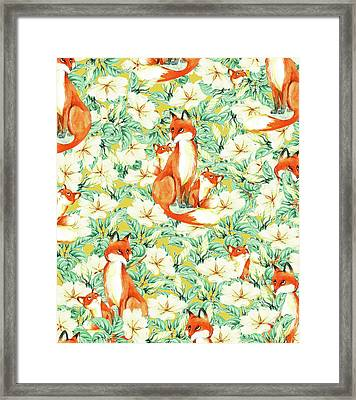 Jackals Framed Print by Uma Gokhale