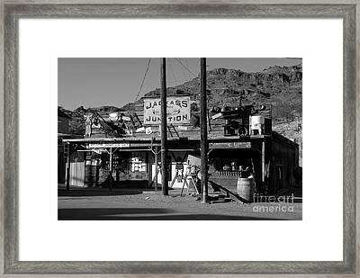 Jackass Junction Framed Print by David Lee Thompson