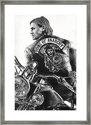 Jackie Boy Framed Print