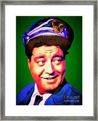 Jackie Gleason The Honeymooners 20151227 Framed Print by Wingsdomain Art and Photography