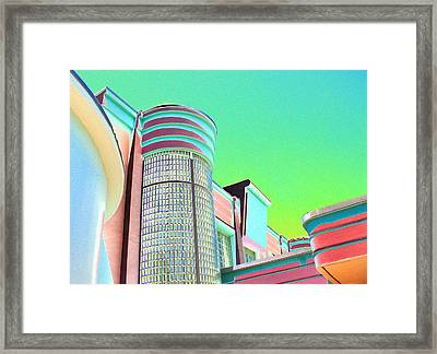 Jackie Gleason Theater 1 Framed Print by Bev Mooney