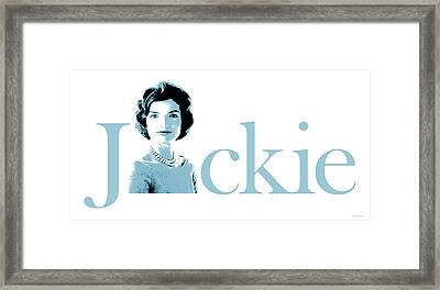 Jackie Framed Print by Greg Joens
