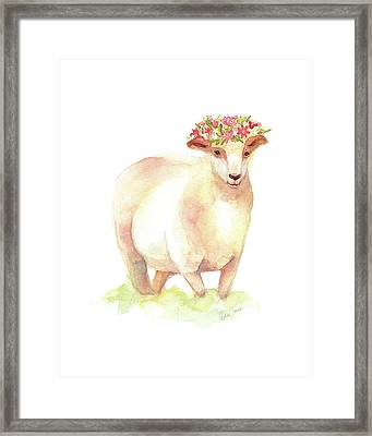 Jackie Framed Print by Stephie Jones