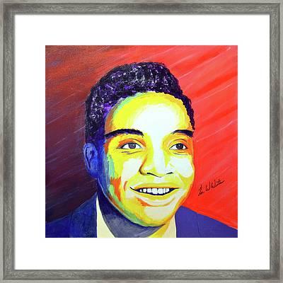 Jackie Wilson Framed Print