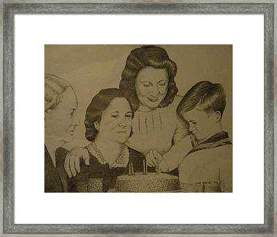 Jack's Birthday Framed Print by Larry Whitler