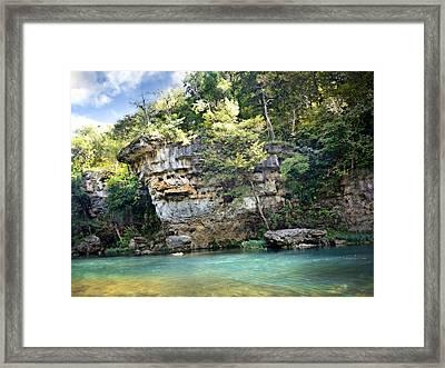 Jacks Fork Bluff 1 Framed Print