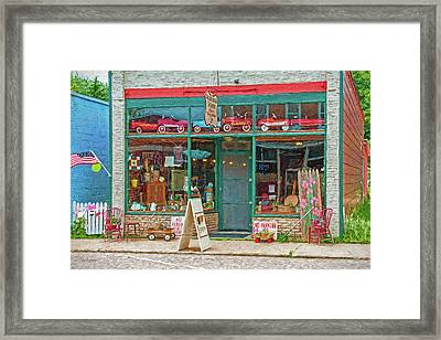 Jackson And Louie's Framed Print by Trey Foerster