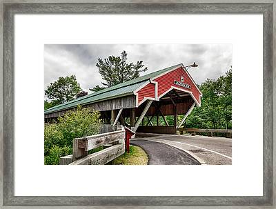 Jackson Covered Bridge Framed Print
