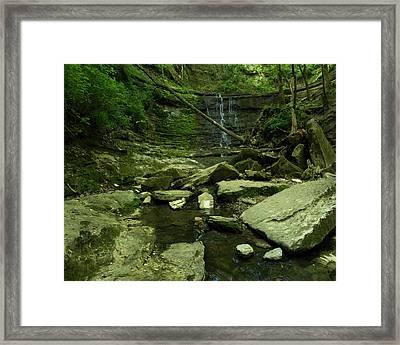 Jackson Falls Framed Print