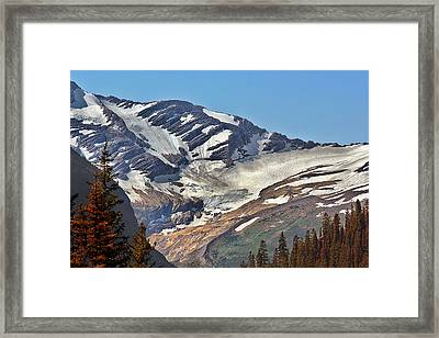 Jackson Glacier - Glacier National Park Mt Framed Print by Christine Till