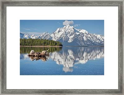Jackson Lake, Gtnp Framed Print