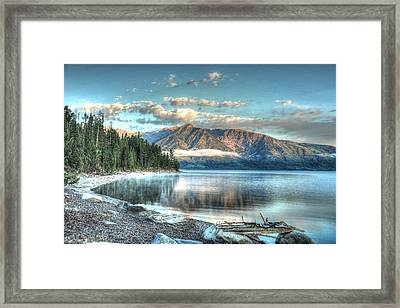 Jackson Lake Framed Print