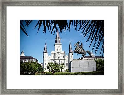 Jackson Square Framed Print