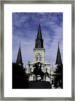 Jackson Square - Color Framed Print