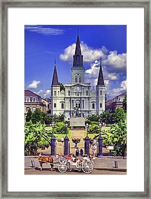 Jackson Square Framed Print by Dennis Cox WorldViews