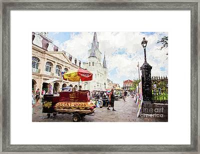 Jackson Square - New Orleans Framed Print