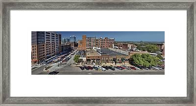 Jackson Street - Omaha - Nebraska Framed Print by Nikolyn McDonald