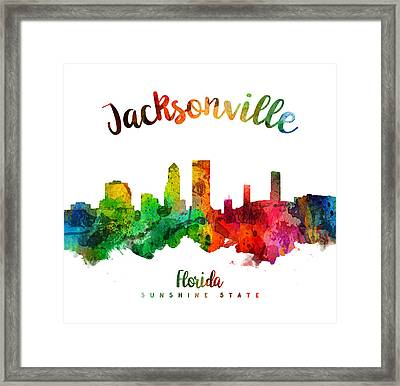 Jacksonville Florida 24 Framed Print