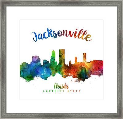 Jacksonville Florida 25 Framed Print