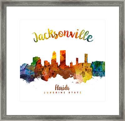Jacksonville Florida 26 Framed Print