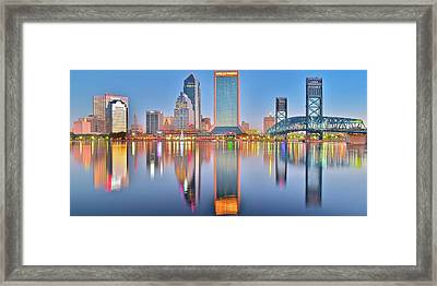Jacksonville Florida Framed Print by Frozen in Time Fine Art Photography
