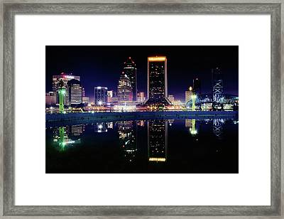 Jacksonville Two Of A Kind Framed Print by Frozen in Time Fine Art Photography