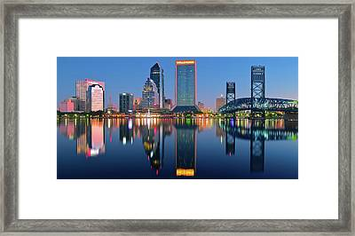 Jacksonville Two Times Framed Print by Frozen in Time Fine Art Photography