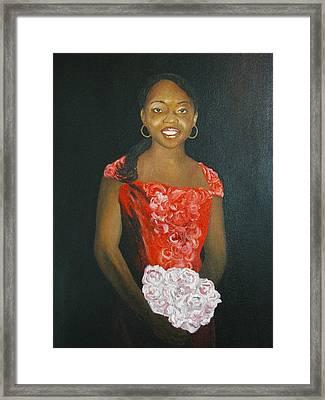Jaclyn Framed Print