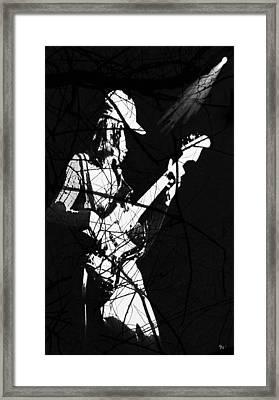 Framed Print featuring the digital art Jaco by Ken Walker