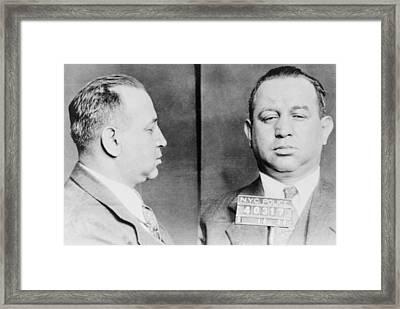 Jacob Gurrah Shapiro 1899-1947 Framed Print