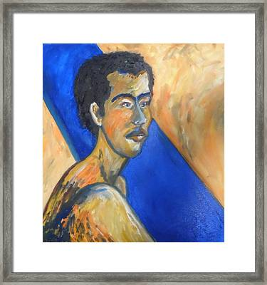 Framed Print featuring the painting Jacob Patriarch Of The Israelites by Esther Newman-Cohen
