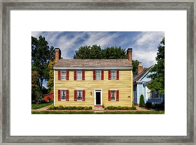 Jacob Rizer House - Bardstown - 1812 - 1 Framed Print by Frank J Benz