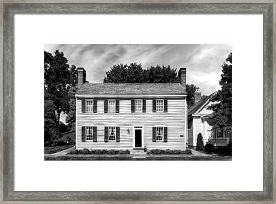 Jacob Rizer House - Bardstown - 1812 - 2 Framed Print by Frank J Benz