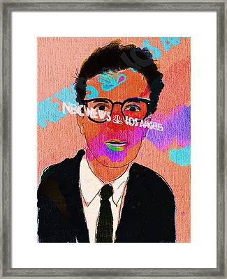 Jacob Soboroff In Living Color Framed Print by Jim Smith