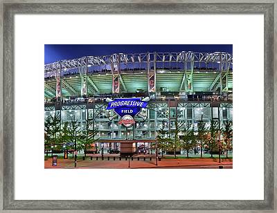 Jacobs Field Framed Print