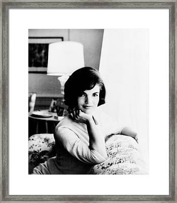 Jacqueline Framed Print by Benjamin Yeager