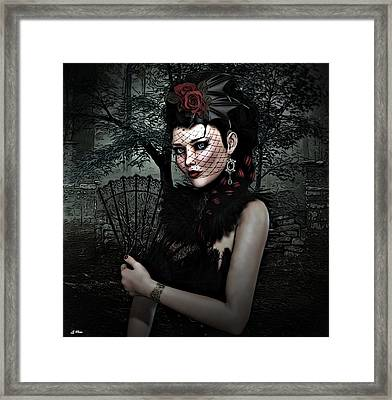Jacquelyn 002 Framed Print by G Berry