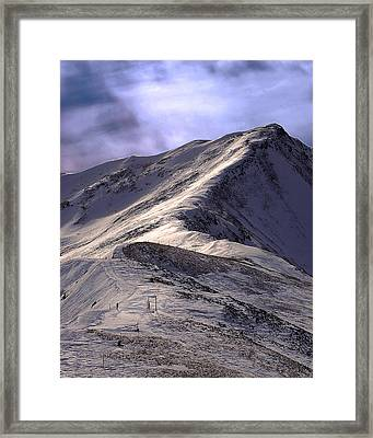 Jacques Pique Framed Print by Kevin Munro