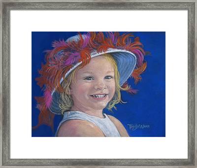 Jada's Hat Framed Print by Tanja Ware