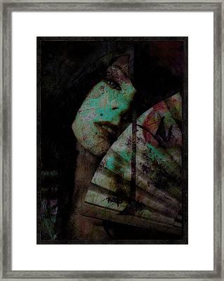 Jade Framed Print by Adam Kissel