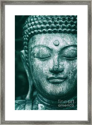 Jade Buddha Framed Print by Tim Gainey