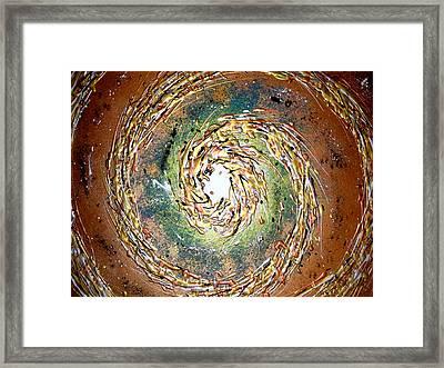 Jade Cyclone Framed Print by Daniel Lafferty