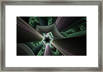 Jade Empress Framed Print