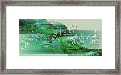 Framed Print featuring the photograph Jade Enigma by Robert G Kernodle