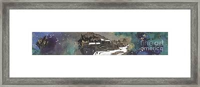 Jade Fairyland Framed Print by Linda Smith
