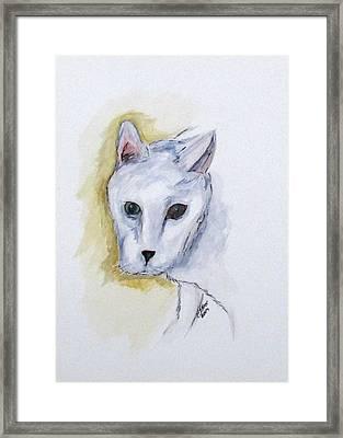 Jade The Cat Framed Print